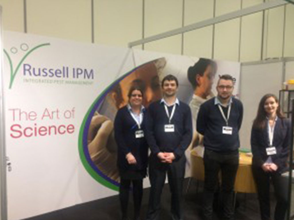 Russell IPM attended PestEx London